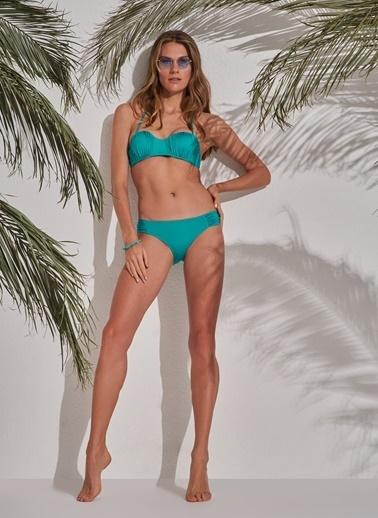 Morhipo Beach Straplez Bikini Yeşil